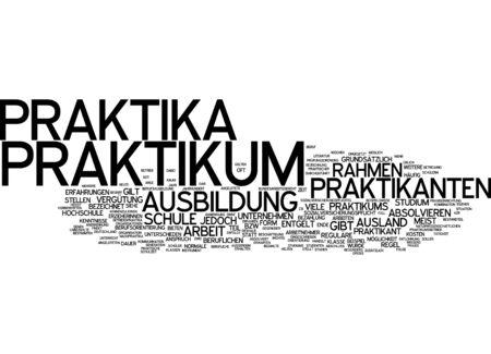 remuneraciones: Nube de palabras de pasant�as en lengua alemana