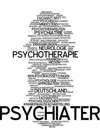approbation: Word cloud of propaganda in German language Stock Photo