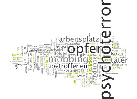 approbation: Word cloud of propaganda in German language Stock Photo