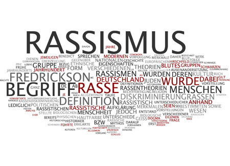 historian: Word cloud of racism in German language