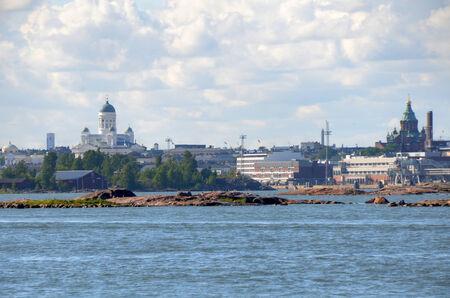 helsinki: Cityscape in Helsinki, Finland