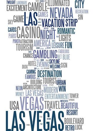 las vegas lights: Word cloud - Las Vegas