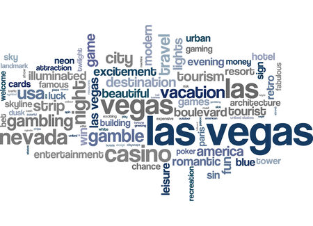 las vegas lights: Word cloud - Las Vegas