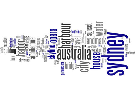 sydney australia: Word cloud - Sydney