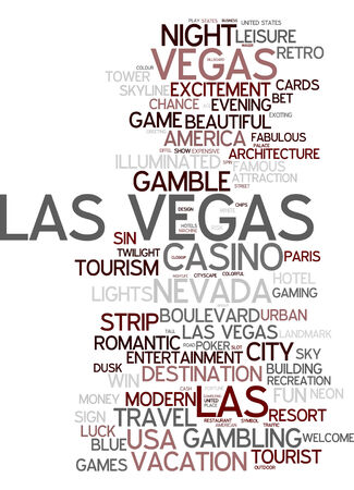 vegas strip: Word cloud - Las Vegas