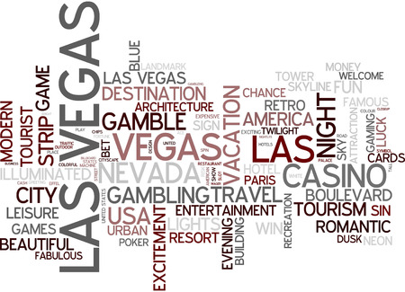 las vegas strip: Word cloud - Las Vegas