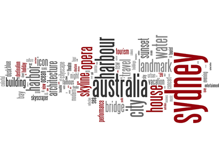 sydney: Word cloud - Sydney