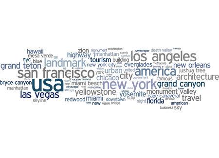 Word cloud - USA