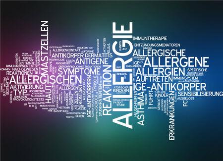 symptom: Word cloud - allergy