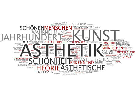 kunst: Word cloud - aesthetics and art