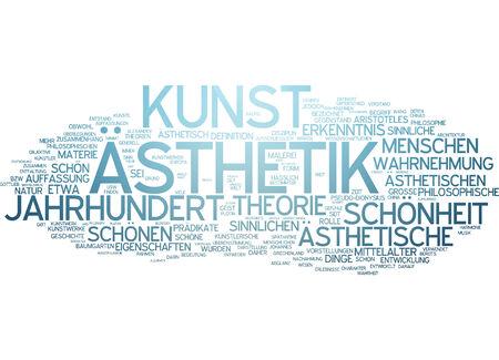 kunst: Word cloud - aesthetics and art