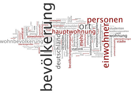resident: Word cloud - population