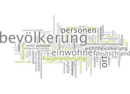 population: Word cloud - population