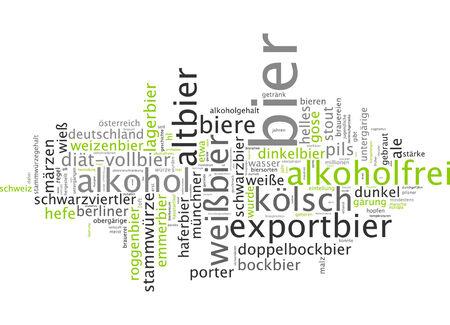 Word cloud - beer