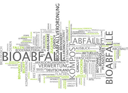 Word cloud - Bioabfall Standard-Bild - 34759607