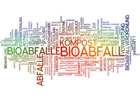 Word cloud - Bioabfall Standard-Bild - 34759610