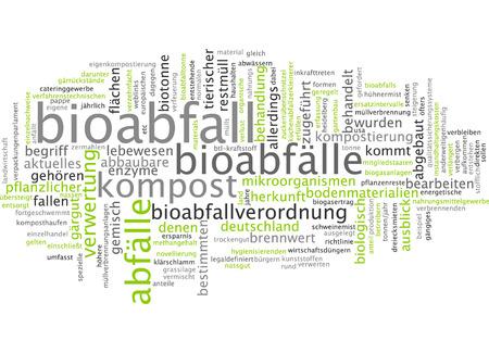 Word cloud - Bioabfall Standard-Bild - 34759614