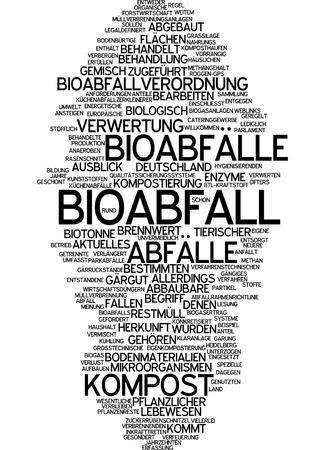 Word cloud - Bioabfall Standard-Bild - 34759619