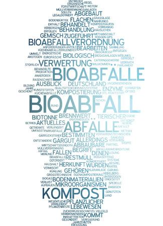 Word cloud - Bioabfall Standard-Bild - 34759620
