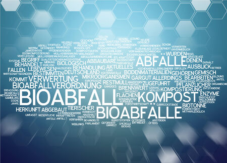 Word cloud - Bioabfall Standard-Bild - 34759628