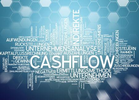 valuta: Word cloud - cashflow