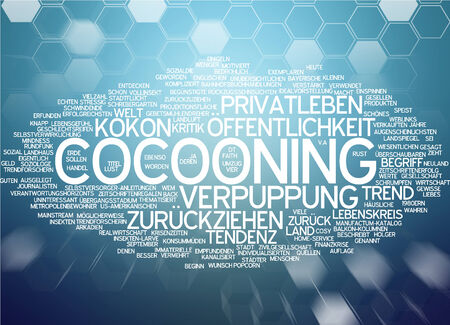 socialization: Word cloud - cocooning