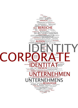 word clouds: Word cloud - corporate identity