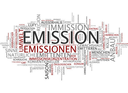 Word cloud - Emission