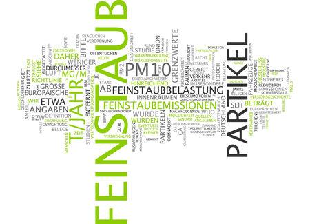 the matter: Word cloud - particulate matter