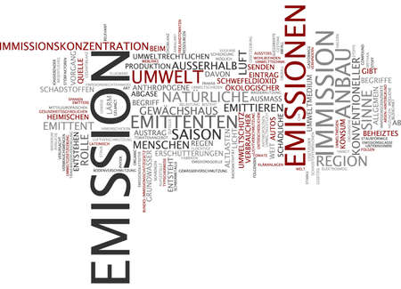 valuta: Word cloud - Emission
