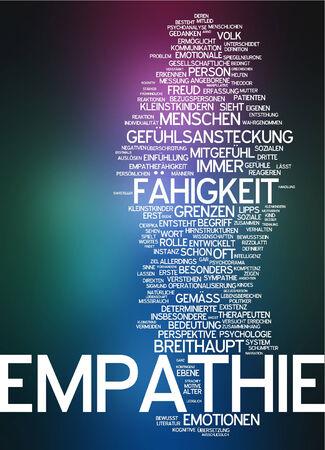 empatia: Nube de palabras - la empatía