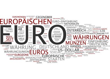 european exchange: Word cloud - euro