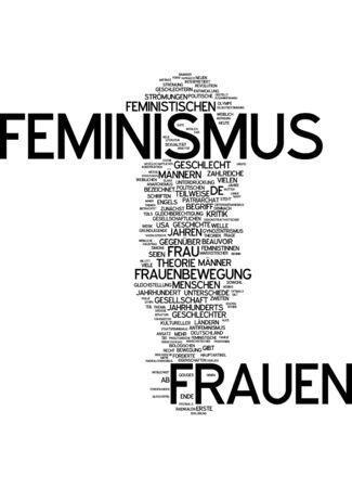 feminismo: Nube de palabras - feminismo