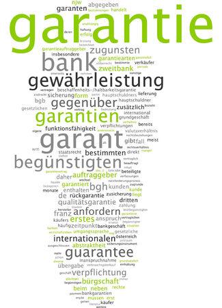 guaranty: Word cloud - guaranty