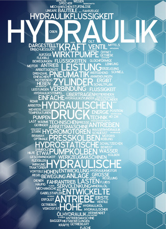 hydraulic: Word cloud - hydraulic systems