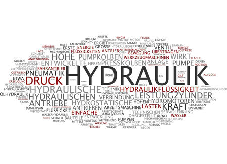 Word cloud - sistemi idraulici