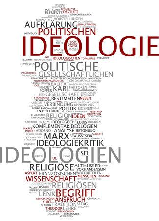 ideology: Word cloud - ideology