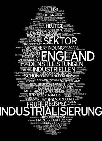 industrialization: Word cloud - industrialization