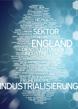 sectors: Word cloud - industrialization