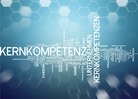 competency: Word cloud - core competency