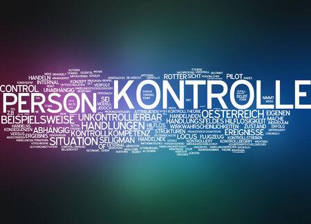behaviours: Word cloud - control