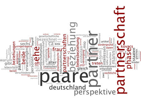relationships: Word cloud - relationships Stock Photo