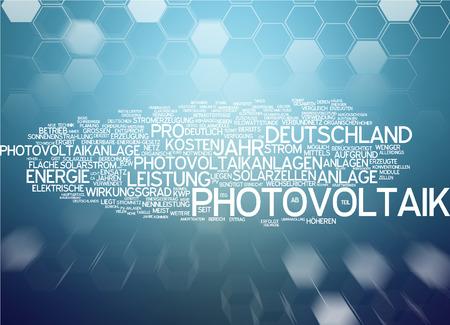 photovoltaics: Word cloud - photovoltaics