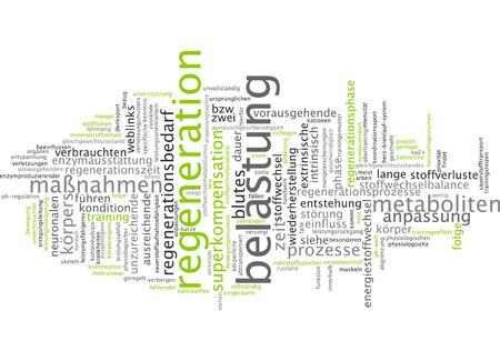 Word cloud - regeneration
