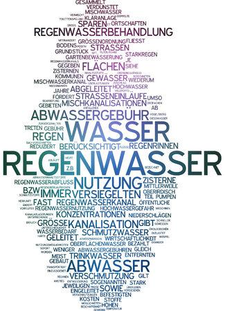 sewage treatment plant: Word cloud - rainwater