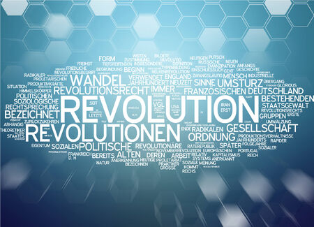 law and order: Word cloud - revolution