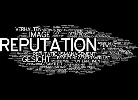 lasting: Word cloud - reputation