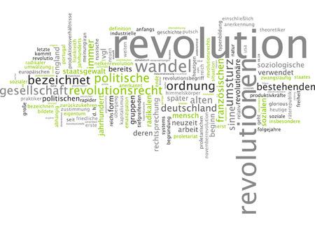 overthrow: Word cloud - revolution