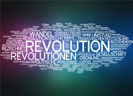 politician: Word cloud - revolution