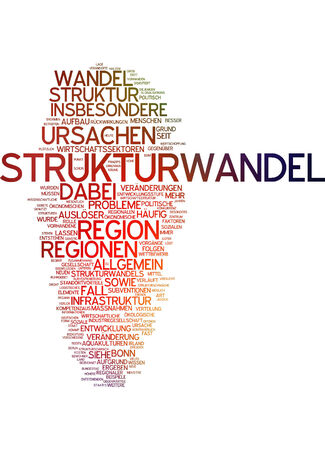 long term: Word cloud - structural change